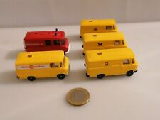 J613 WIKING MB TRANSPORTER 508 MERCEDES BENZ 5 STK 1:87 Post Postauto Shell Rtw
