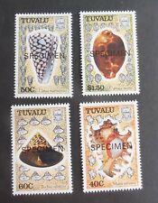 Tuvalu 1991 Sea Shells seashell SPECIMEN SG597/600 MNH UM unmounted mint