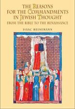 The Reasons for the Commandments in Jewish Thought. from the Bible to the Renais