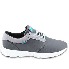 SUPRA HAMMER RUN PREMIUM SKATEBOARDING SHOES LIGHT GREY FREE UK DELIVERY RRP £65