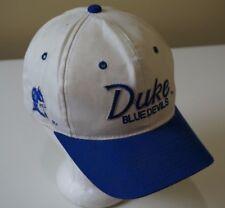 Vintage Duke Blue Devils Sports Specialties Script Twill SnapBack Hat Cap