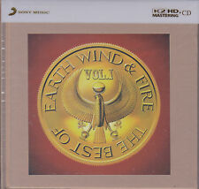 """Earth, Wind & Fire - Greatest Hits Vol.1"" Sony Japan Limited Numbered K2HD CD"