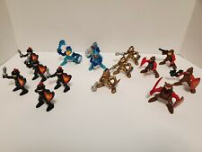 Vintage 1994 F-P Inc Lot of 15 action figures Knights Vikings 3 Inch Poseable