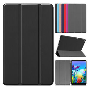 For LG G Pad 5 10.1 Inch LM-T600L 2019 Tablet Slim Leather Flip Stand Case Cover