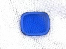 ONE 12mm x 10mm Flat Cushion Synthetic Blue Spinel Corundum Cabochon Gemstone