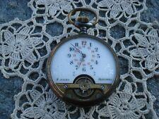 orologio tasca watch pocket uhr reloj montre hebdomas 8 giorni
