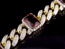 Gold Ruby Fine Bracelets