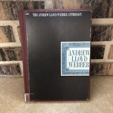 Andrew Lloyd Webber Anthology Songs Voice Piano Library Binding