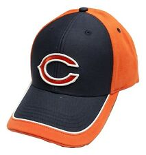 Chicago Bears Cap Two Tone Adjustable Logo Hat NFL Headwear New