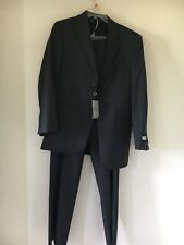 NWT JONES NEW YORK COLLECTION ATHLETIC FIT 2 PIECE SUIT R38 W30 100%WOOL RN47338