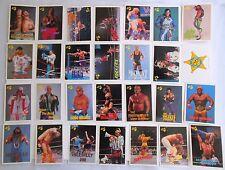 28 Classic WWF Pro Wrestling Trading Cards 1990 Hulk Original  lot # 3