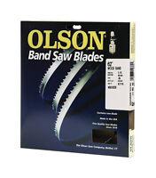 Olson Saw WB55362BL 62-Inch by 1/4 wide by 6 Teeth Per Inch Band Saw Blade