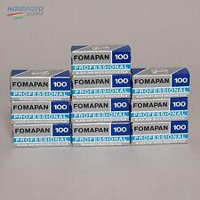 FOMA Fomapan Professional 100 Schwarzweißfilm, 120, 10 Stück