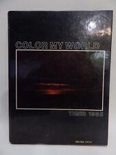 Sterling High School Colorado Tiger 1985 Color My World Yearbook Annual Alumni