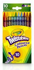 Crayola 10 Twistables Coloured Crayons Pencils Coloured Twistable Colouring UK