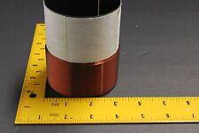 "76mm 3"" dual 4ohm black alumin fomer COPPER WIRE SUBWOOFER speaker voice coil b"