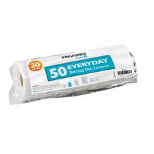 JOB LOT - 42 Packs of Everyday Swing Dustbin Bin Bag Liners/Refuse Sacks