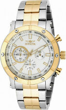 Invicta Specialty 18164 Men's Round Chronograph Metallic White Analog Watch