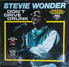 "12"" MAXI  Stevie Wonder ‎– Don't Drive Drunk ,VG++,Motown ZC-69 287 Germany 1984"