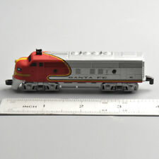 1/60 Santa Fe Railroad Lionel Vintage Classic Train Moving Wheels Metal Diecast
