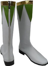 Cosplay Boots Shoes for Power ranger Green ranger