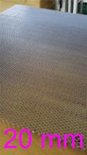 Aluminium Wabenplatte 300x200mm 6,5mm Waben / Wabengitter / Honeycomb CO2 Laser