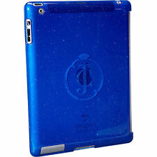 JUICY COUTURE SIGNATURE COBALT BLUE GLITTER GELLI IPAD 3 SHELL CASE $58.00 BNWT