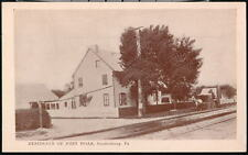 SOUDERSBURG PA John Hoar Residence Home Vintage B&W Postcard Early Old PC