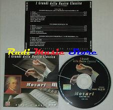 CD MOZART III 2000 GRANDI DELLA MUSICA CLASSICA narrato kantschieder lp mc dvd