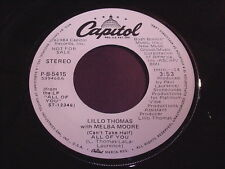 Lillo Thomas with Melba Moore: (Can't Take Half) All Of You 45 - Soul
