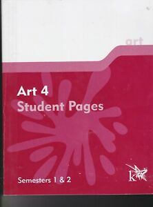 K12 Art 4 Student Pages (Semesters 1 & 2)