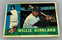 1960 Topps # 172 Willie Kirkland San Francisco Giants Baseball Card