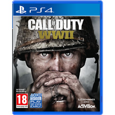 Sony Ps4 Call of Duty WWII Cod Ww2 Video Game