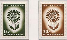 Nederland 827-828 Europa CEPT 1964