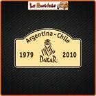 2 Adhesives IN Theme Dakar Argentina Chile Rally Auto Motorcycle Helmet Cross