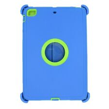 For Apple iPad mini 2/3 Case Cover w/(Stand Fits Otterbox Defender) Blue Green