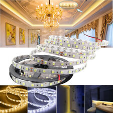 Waterproof 24V 5M 5050 SMD 300 LED Strip Light Ribbon Tape Lamp Cool/Warm White