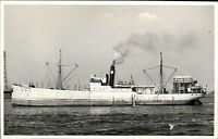 Schiffsfoto-AK Ship Real Photo ~1950/60 Marine Seefahrt Frachtschiff Ragunda