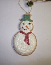 """""""Traditional Christmas Cookie Ornament"""" (Snowman) by Bethany Lowe Designs"""