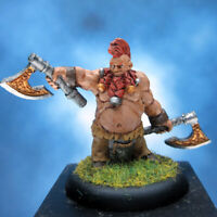 Painted Scibor Miniature Dwarf Barbarian