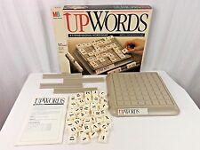 Vintage 1998 Upwords Game 3D Word Game by Milton Bradley Complete !