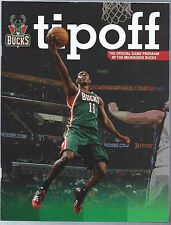 2013-14 Tipoff Milwaukee Bucks Game Program Giannis Antetokounmpo Rookie Year