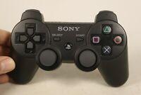 Genuine OEM Sony PlayStation 3 PS3 SixAxis DualShock 3 Controller Black