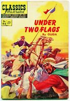 Classics Illustrated, Under Two Flags #86, $0.15 - 2nd Ed. HRN 117, FN