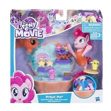 My Little Pony Set The Movie Pinkie Pie Undersea Café Seapony Figure Cafe Stand