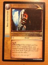 Lord of the Rings CCG Fellowship 1C82 Risk A Little Light X2 LOTR TCG