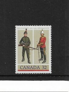 1983 Canada - Army Regiments - Single Stamp - Mint and never Hinged.