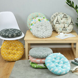 """16""""Round Square Seat Mat Washable Chair Pad Cushion Garden Patio Home Decor"""