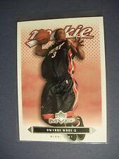DWYANE WADE 2003-04 UD MVP #205 RC Heat