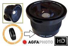 Super HD Wide Fisheye Lens for Samsung NX1100 NX300 (For 18-55mm Lens)